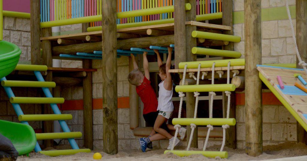 Kids Spot Nursery outdoor timber playstructures