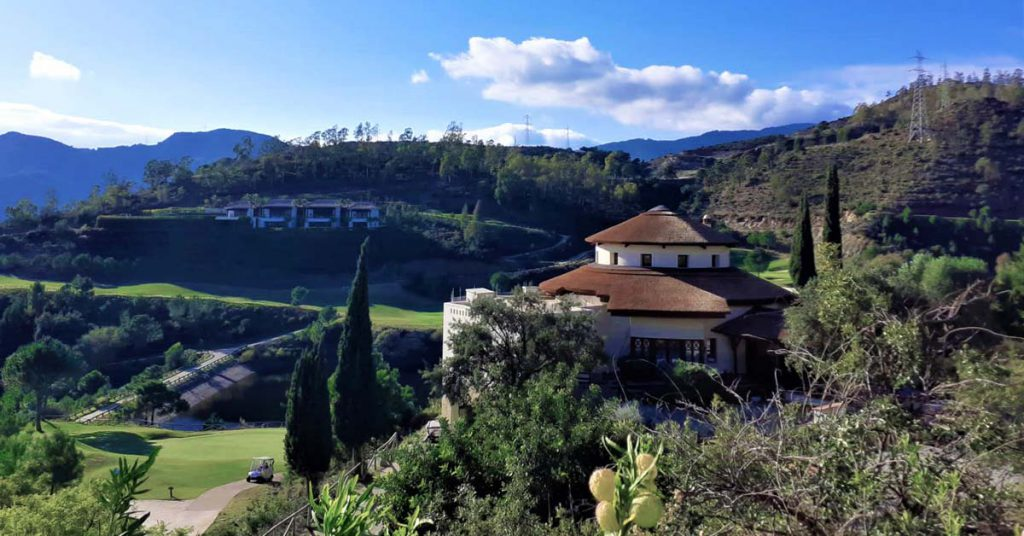 Majestic views of the New Clubhouse at La Zagaleta