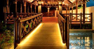 Timber balustrades with decking