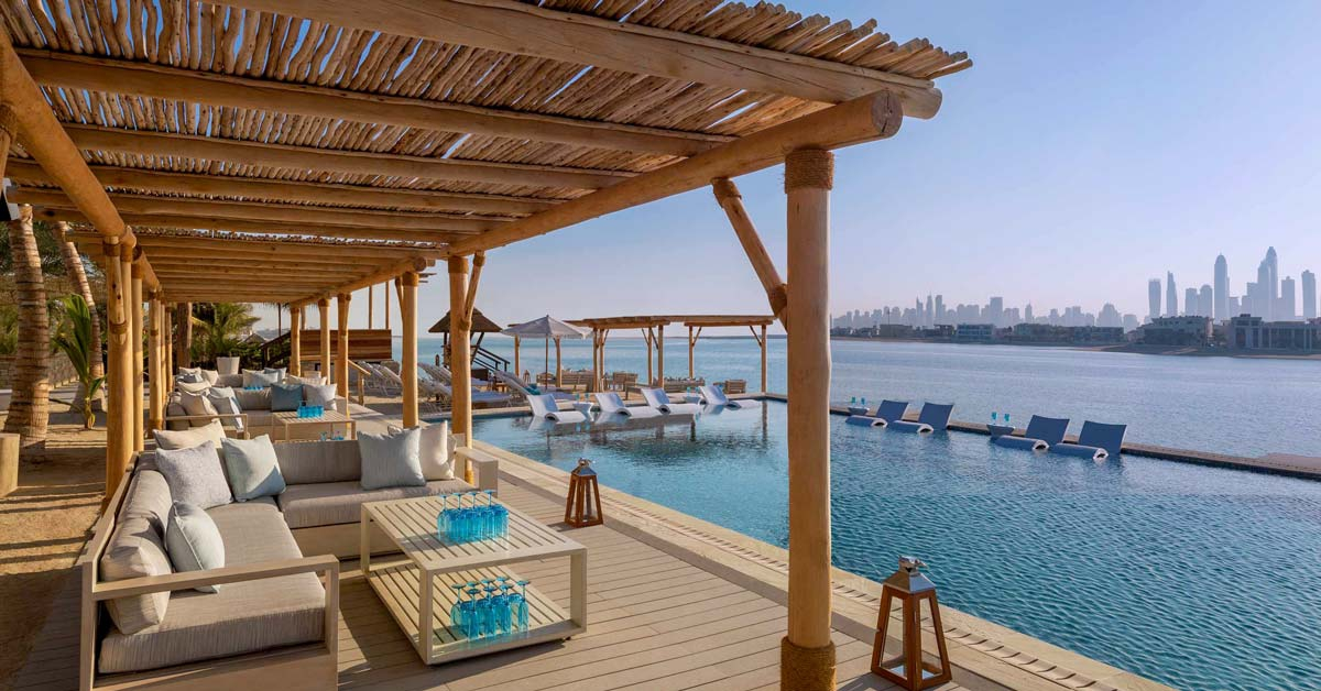 Cape Reed timber construction timber pergolas in natural finish with decking