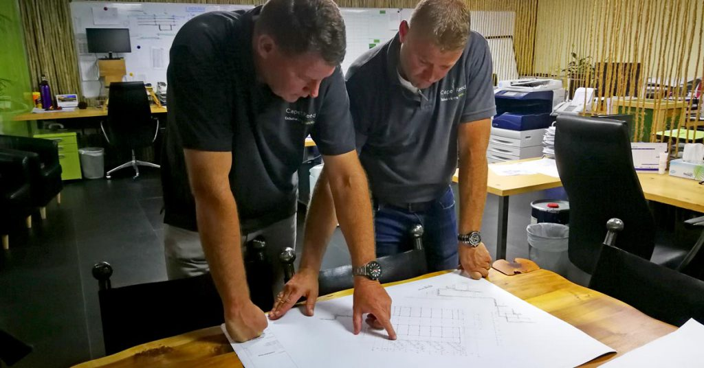 Cape Reed turnkey construction planning
