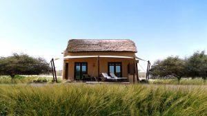 Thatched chalet at Anantara