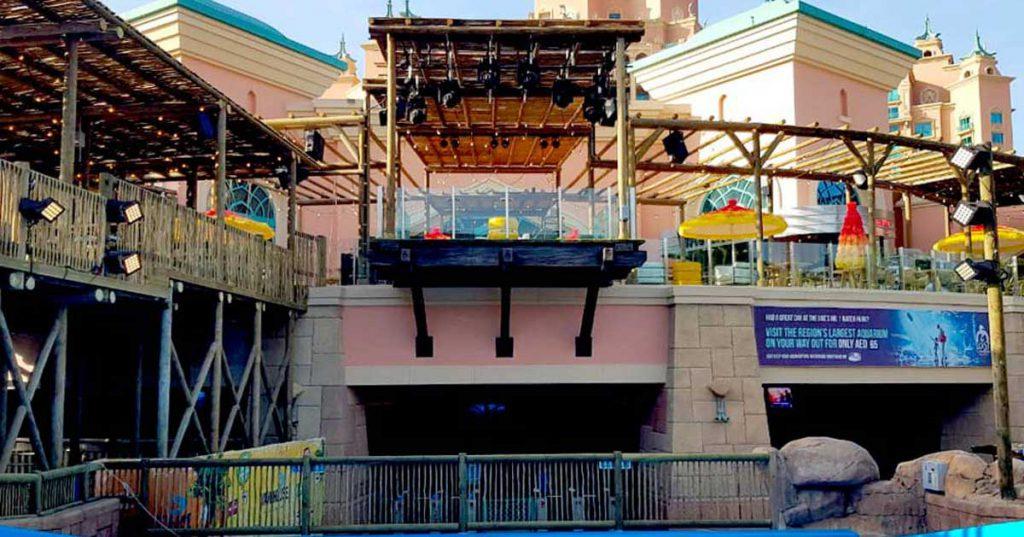 Wavehouse timber pergolas and balustrades