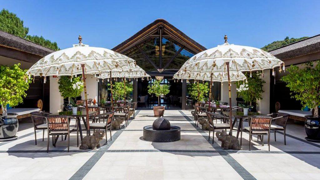 Shanti-Som Well-Being retreat courtyard