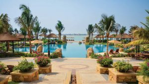 Sofitel The Palm Jumeirah Poolside Thatched Daybed Cabanas